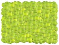 Fundo das esferas de tênis ilustração stock
