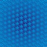 Fundo das estrelas azuis Imagem de Stock