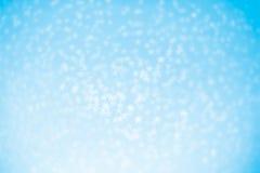 Fundo das estrelas azuis do Natal Foto de Stock Royalty Free