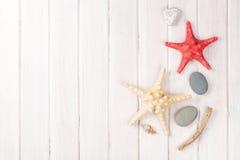 Fundo das férias do mar das horas de verão Imagem de Stock Royalty Free