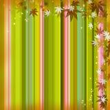 Fundo das folhas de outono Fotografia de Stock