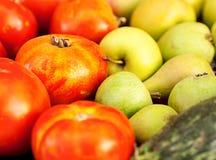 Fundo das frutas e verdura Imagens de Stock Royalty Free