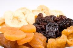 Fundo das frutas secadas imagem de stock