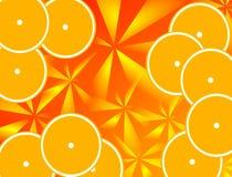 Fundo das laranjas Fotografia de Stock Royalty Free