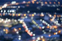 Fundo das luzes das cores Imagens de Stock Royalty Free