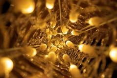 Fundo das luzes de Natal de Abstarct Imagem de Stock Royalty Free