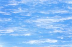 Fundo das nuvens Foto de Stock Royalty Free