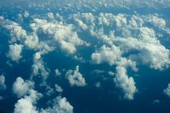Fundo das nuvens fotografia de stock