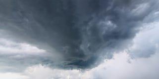 Fundo das nuvens de tempestade Fotografia de Stock
