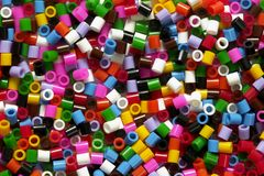 Fundo das partículas da cor Foto de Stock Royalty Free