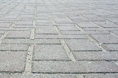Fundo das pedras de pavimentação cinzentas imagem de stock
