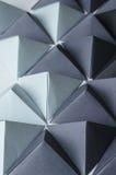 Fundo das pirâmides do origâmi Fotografia de Stock