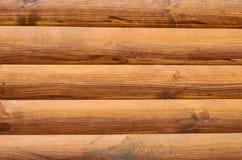 Fundo das placas da madeira maciça, cor marrom Fotografia de Stock Royalty Free