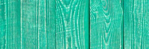 Fundo das placas de madeira da textura do vintage pintadas com pintura verde-clara vertical natalia fotos de stock royalty free