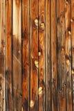 Fundo das placas de madeira imagem de stock