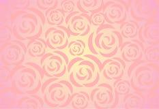 Fundo das rosas ilustração stock