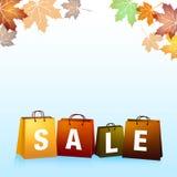 Fundo das vendas do outono Imagem de Stock Royalty Free