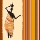 Fundo de África Imagens de Stock Royalty Free