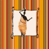 Fundo de África Foto de Stock Royalty Free