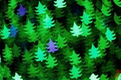 Fundo de árvores de Natal Fotografia de Stock