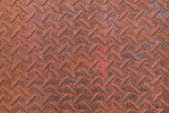 Fundo de aço da textura do metal oxidado velho Imagens de Stock