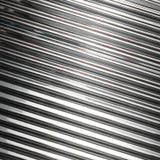 Fundo de aço inoxidável da textura do metal Fotos de Stock Royalty Free