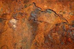 Fundo de aço oxidado Foto de Stock Royalty Free