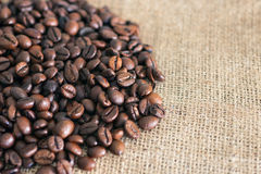 Fundo de alta resolução do café com espaço da cópia Fotografia de Stock