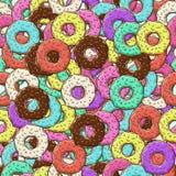 Fundo de anéis de espuma coloridos lotes Fotografia de Stock Royalty Free