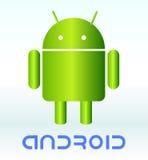 Fundo de Android. Fotografia de Stock