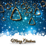 Fundo de 2015 anos novos e do Natal feliz Fotografia de Stock