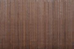 Fundo de bambu da esteira Imagem de Stock Royalty Free
