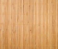 Fundo de bambu da esteira imagem de stock