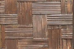 Fundo de bambu da textura foto de stock