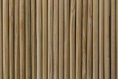 Fundo de bambu da textura Fotos de Stock