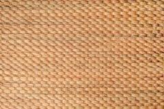 Fundo de bambu do weave Fotos de Stock