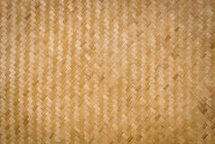 Fundo de bambu do Weave Foto de Stock Royalty Free