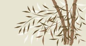 Fundo de bambu, vetor ilustração do vetor