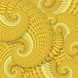 Fundo de bananas maduras Imagens de Stock