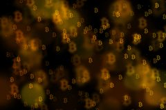 Fundo de Bitcoin, BTC Fotos de Stock Royalty Free
