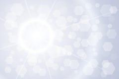 Fundo de brilho claro Imagem de Stock Royalty Free
