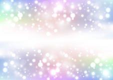 Fundo de brilho colorido Fotos de Stock