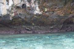 Fundo de brilho da ondinha da água azul Imagem de Stock Royalty Free