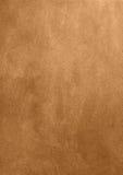 Fundo de bronze do papel vazio da textura imagens de stock royalty free