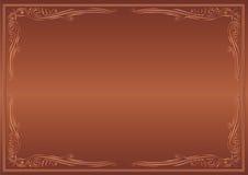 Fundo de Brown Imagens de Stock Royalty Free