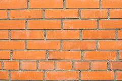 Fundo de Brown da parede de tijolo Imagem de Stock