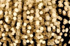 Fundo de círculos dourados fotos de stock