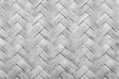 Fundo de Cane Mat Pattern preto e branco imagem de stock