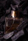 Fundo de carvão do perfume imagem de stock royalty free