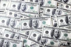 Fundo de cem dólares imagem de stock
